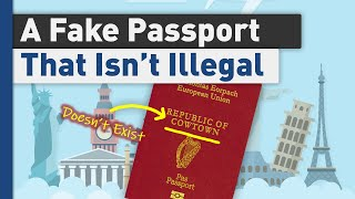 A Fake Passport That Works, sort of
