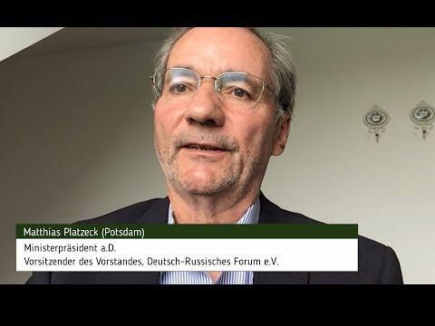 Ansprache von Matthias Platzeck anlässlich des 9. Mai 2020