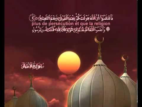 Sourate Le butin <br>(Al Anfal) - Cheik / Mohammad El Menshawe -