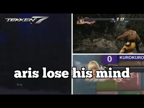 Daily Tekken 7 Moments: aris lose his mind