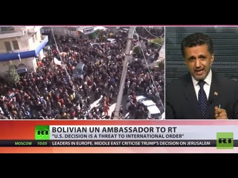 US decision is a threat to international safety' – Bolivian UN ambassador