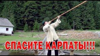 СПАСИТЕ КАРПАТЫ!!! Автор Геннадий Волик.