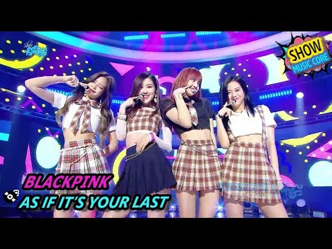 [HOT] BLACKPINK - AS IF IT'S YOUR LAST, 블랙핑크 - 마지막처럼 Show Music Core 20170812 - MBCkpop