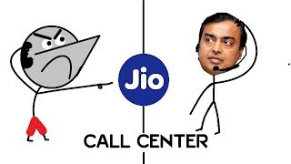 Jio Call Center : Halkat Call 1 | Angry Prash
