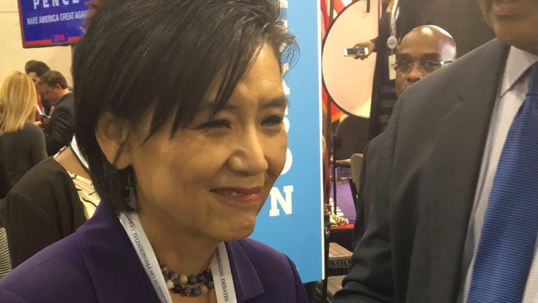 Live with Congresswoman Judy Chu at Vegas debate thumbnail