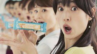 【日本CM】戶田惠梨香新廣告拿著大豆棒挑戰有相當難度的舞蹈