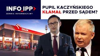 Pupil Kaczyńskiego kłamał przed sądem? SERWIS INFORMACYJNY IPP TV 2021.02.26