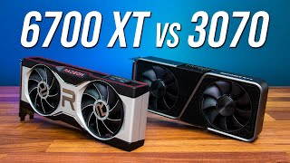 "RX 6700 XT vs RTX 3070 - Which ""$500"" GPU? 🤔"