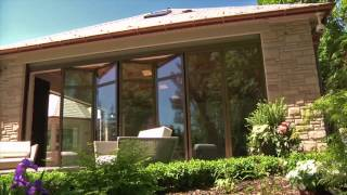Folding Glass Walls Pool House - Movable Glass Walls Inc.