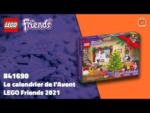 Vidéo LEGO Friends 41690 : Le calendrier de l'Avent LEGO Friends 2021