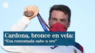 """Joan Cardona sobre su medalla de bronce en Finn: """"Sabe a oro"""""""