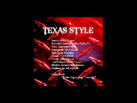 Mike Fuentes - Texas Style (Recorded at January Studios, Dallas Tx) Sept 2013