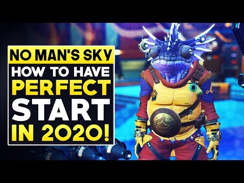 No Man's Sky How To Have The Perfect Start in 2020! | No Man's Sky Synthesis Starter Guide