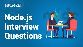 Top 50 Node.js Interview Questions and Answers   Node.js Interview Preparation   Edureka
