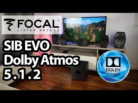 FOCAL SIB EVO Dolby Atmos 5.1.2 : meilleures enceintes compactes ? (Unboxing)