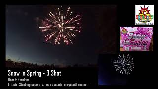2018 Pyroland Fireworks Product Demo