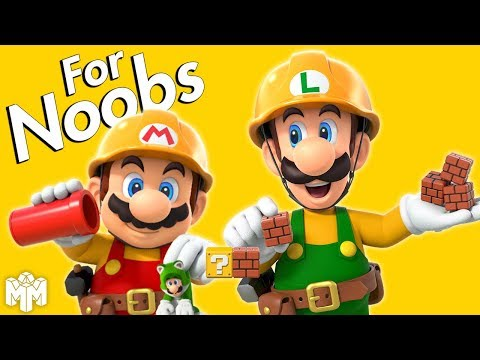 SUPER MARIO MAKER 2     For Noobs download YouTube video in