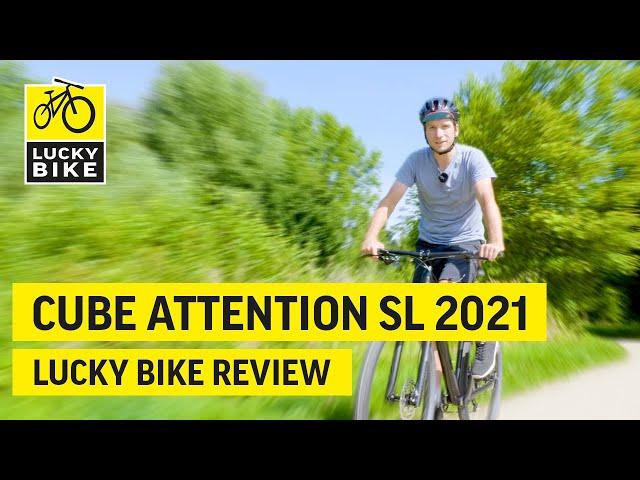 Видео Велосипед Cube Attention SL black´n´grey