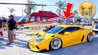 Another Car Show in My 1000HP Lamborghini! (Then This Happens…)