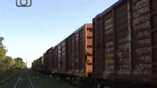preview picture of video 'Tren de SOE Belgrano Cargas entrando a Deán Funes a la una... a las dos... y a las tres!'
