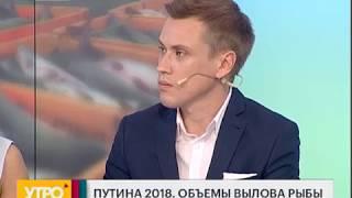 Путина 2018. Объемы вылова рыбы.