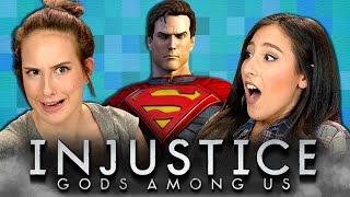 INJUSTICE: GODS AMONG US (REACT: Gaming)