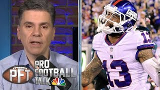 Patriots aggressively pursued Odell Beckham Jr. trade last year | Pro Football Talk | NBC Sports