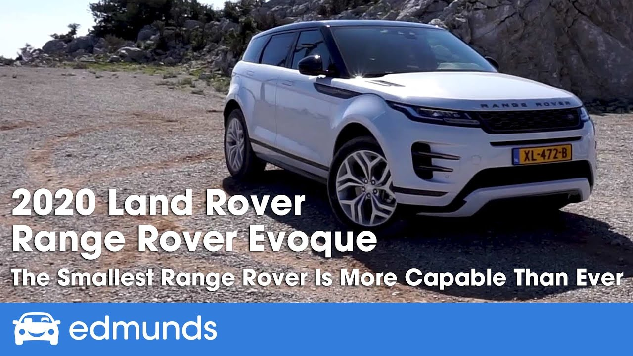 2020 Land Rover Range Evoque Review And First Drive