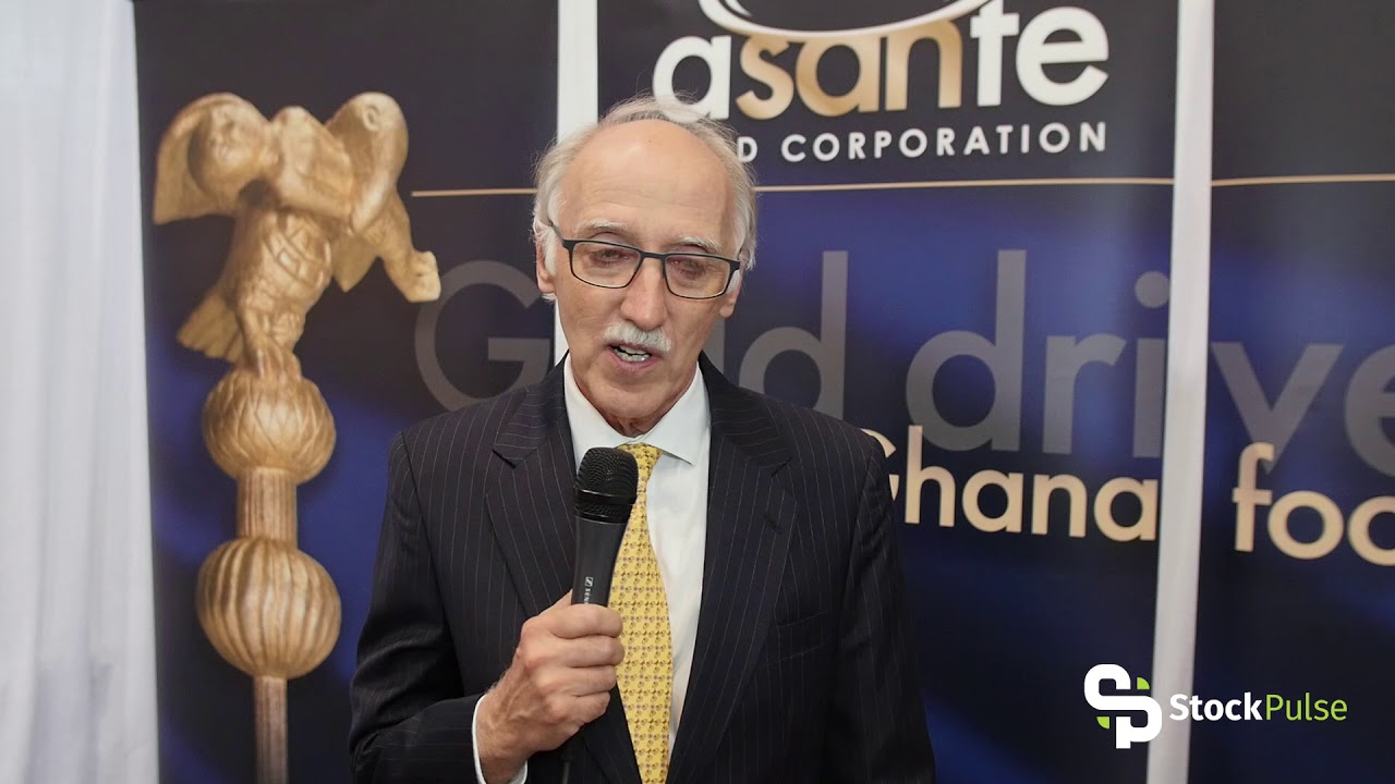 Asante Gold Corp Catalyst Clip with President & CEO Douglas MacQuarrie at the 2018 PDAC in Toronto