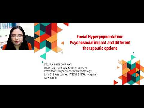 Facial Hyperpigmentation: Psychosocial impact and different therapeutic options