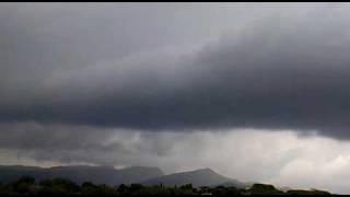 preview picture of video 'Tormenta Severa (Severe Storm) en Sta Eulalia de Ronçana'