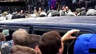 Как Саакашвили вытаскивали из машины СБУ
