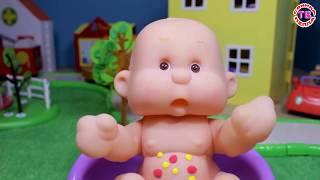 Мультик для детей кукла пупсик Развивающее видео для девочек Играем в дочки матери