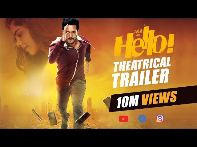 Akhil Akkineni HELLO Theatrical Trailer HD | Kalyani | Priyadarshan | Vikram K Kumar