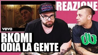 RKOMI   ACQUA CALDA E LIMONE Ft. ERNIA | RAP REACTION 2018