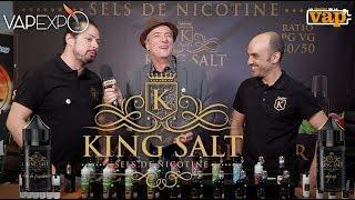 KING SALT : CdsLab les rois du sel de nicotine !
