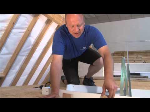 ✔ Holzrahmenbau: Einbau Bodentreppe I ★ Web TV für Handwerker