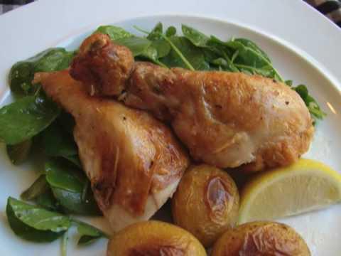 Julia Child's Roasted Chicken – Roast Chicken Recipe