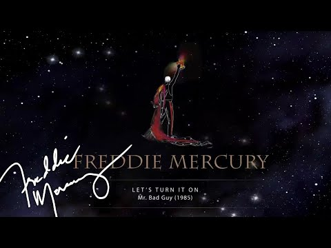 Freddie Mercury - Let's Turn It On (Official Lyric Video)