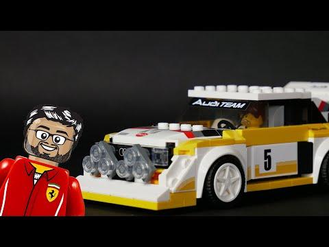 Vidéo LEGO Speed Champions 76897 : 1985 Audi Sport quattro S1