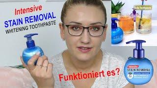 Intensive Stain Removal Whitening Toothpaste   Funktioniert es wirklich?