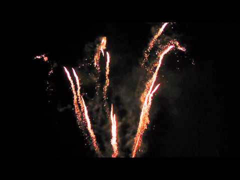 Feuerwerk Siedlungsfest 14.09.12 Berlin Britz