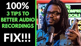 3 Tips for Better Audio Recordings in 2019