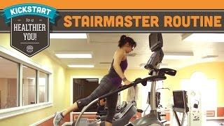 StairMaster/Stairmill Booty Blasting Cardio Routine Workout - Mind Over Munch Kickstart Series