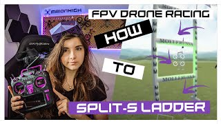 How to split-s ladder - FPV tutorial - in velocidrone | MaiOnHigh