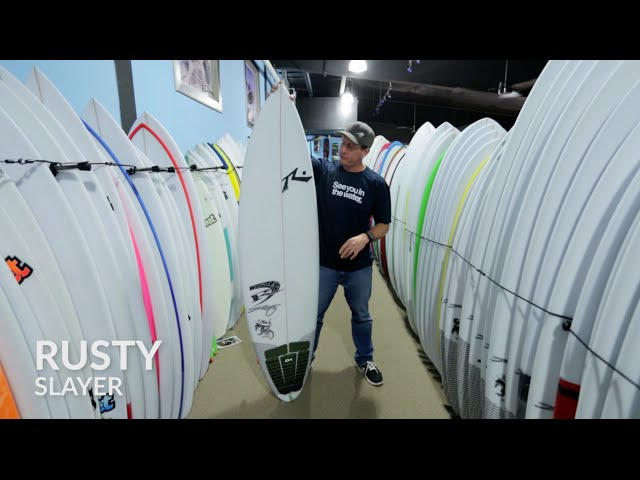Rusty Slayer Surfboard Review