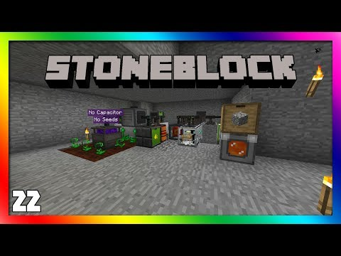 Stoneblock - Mystical Agriculture Automation!! Episode 16 [Modded