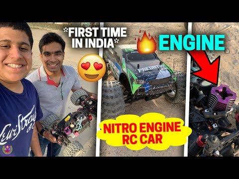 India's First Nitro 32CC Engine RC Car !! 🔥🔥🔥