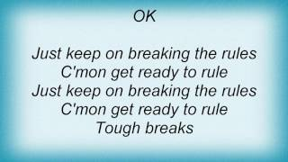 Ac Dc - Breaking The Rules Lyrics