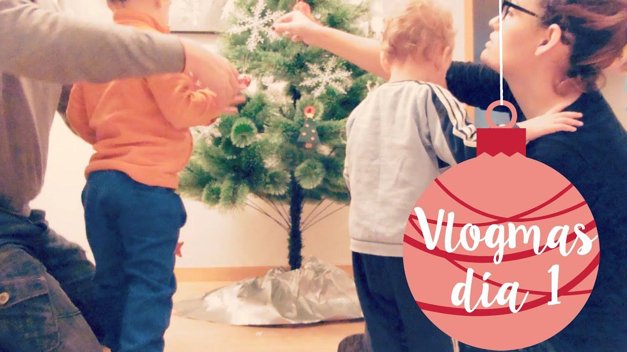 Vlogmas: Arbol de Navidad y Hugo se cae!